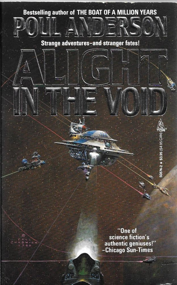 Alight in the Void [not A Light]. Poul Anderson.
