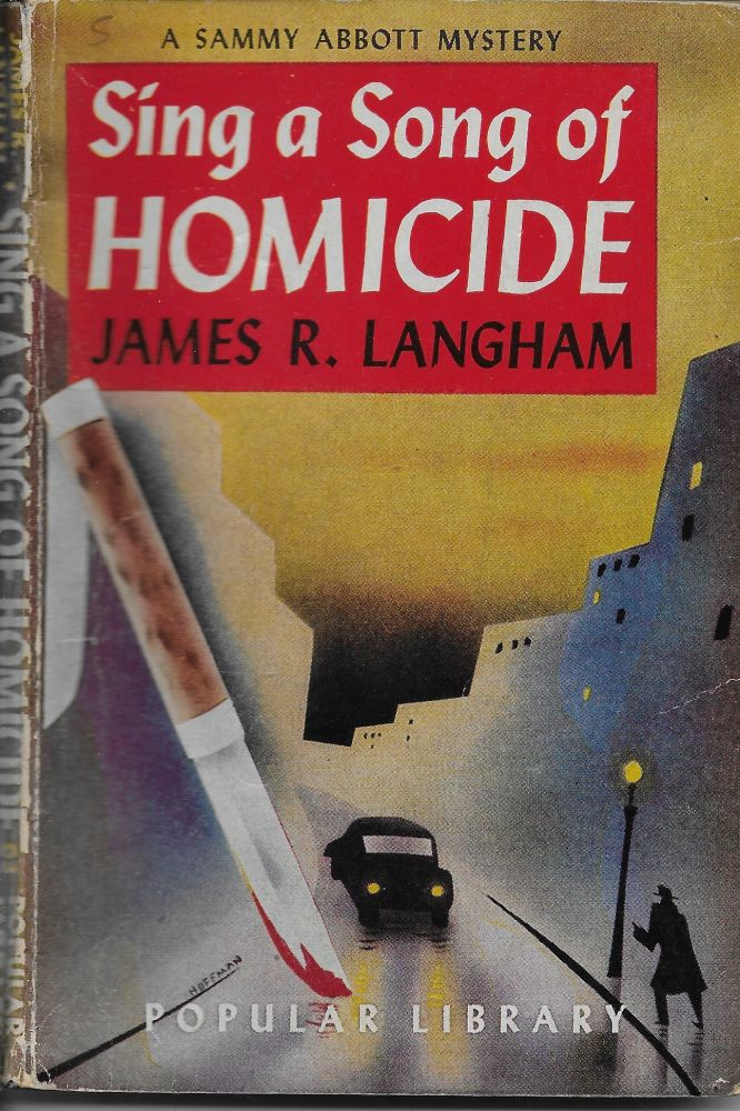 Sing a Song of Homicide. cover, Hoffman.