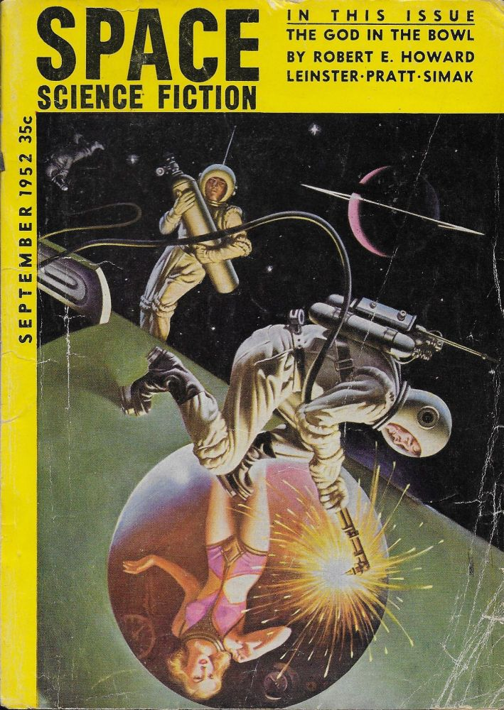 Space Science Fiction: September [Sept] 1952. Vol. 1, No. 2. del Rey. Lester.