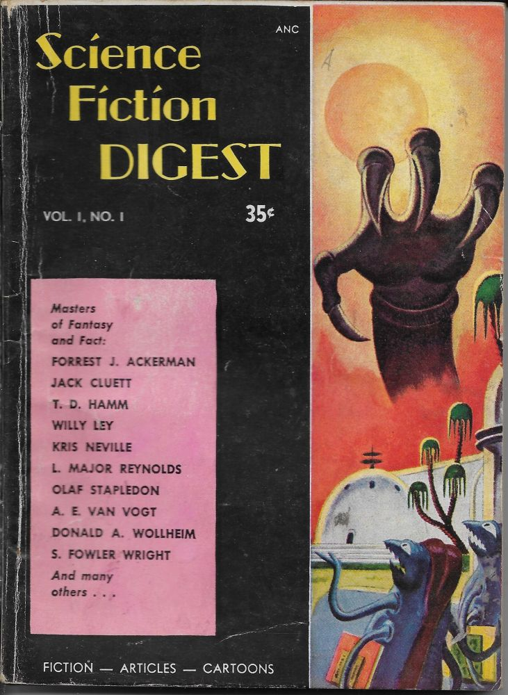 Science Fiction Digest Vol. 1 No. 1. Chester Whitehorn.