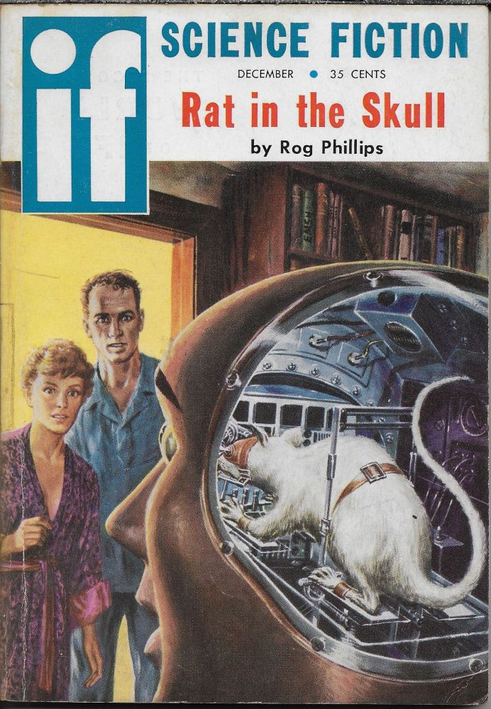 """""""Nullo-0"""" in IF: Worlds of Science Fiction, December 1958. Damon Knight., Philip K. Dick."""