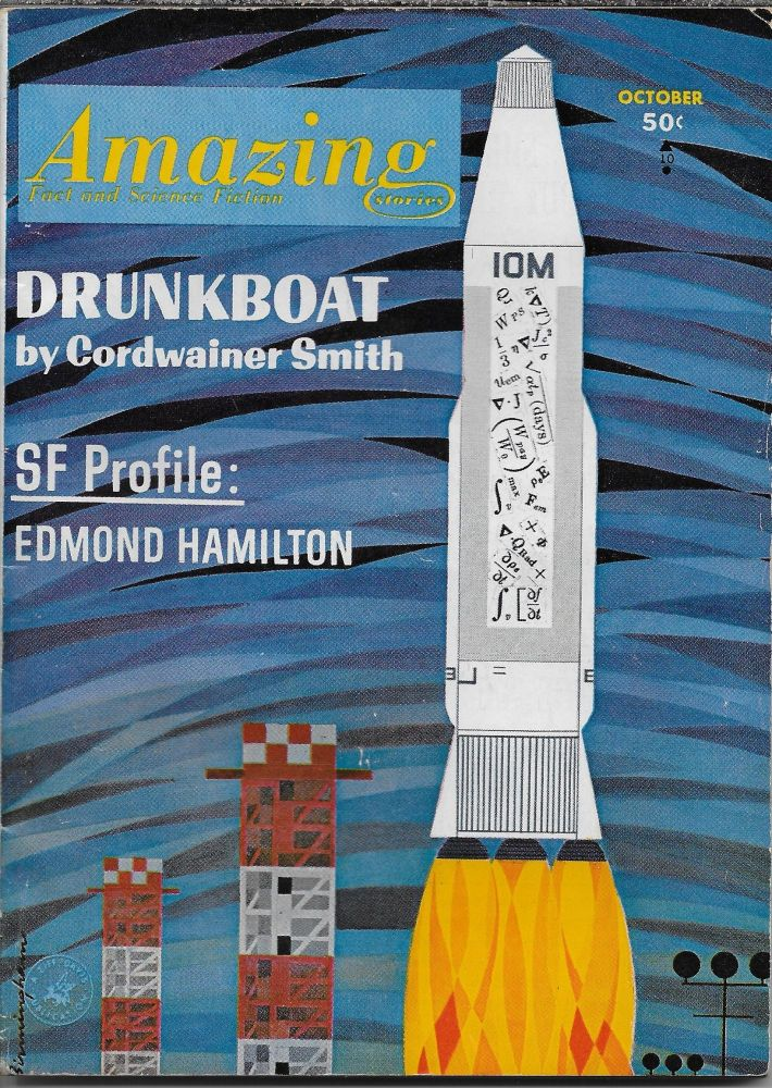 """""""Stand-By"""" in Amazing Stories. October 1963. Howard Browne, Philip K. Dick."""