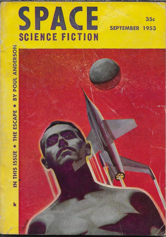 """The Variable Man"" in Space Science Fiction. September 1953. Lester del Rey, Philip K. Dick."
