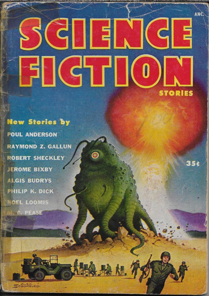 """""""The Eyes Have It"""" in Science Fiction Stories. [First Issue 1953]. Robert W. Lowndes, Philip K. Dick."""