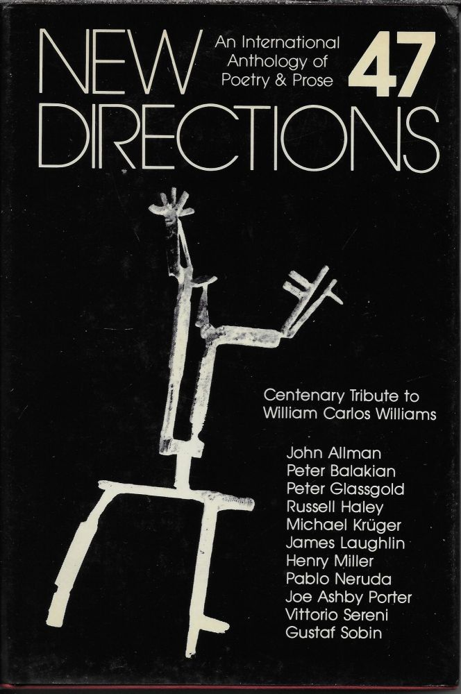 New Directions in Prose and Poetry, 47. James Laughlin.