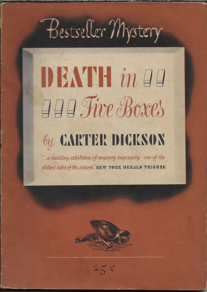 Death in Five Boxes. Carter Dickson.