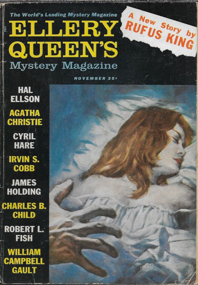 """""""Miss Marple and the Wicked World"""" in Ellery Queen's Mystery Magazine. November 1960. Volume 36, Number 11. Ellery Queen, Agatha Christie."""