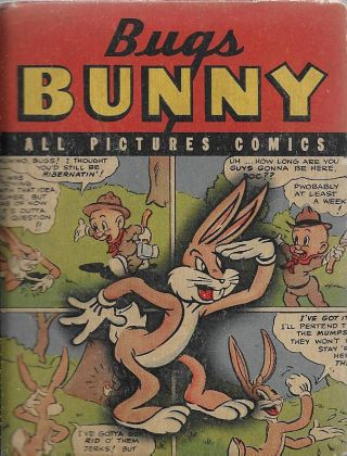 All Pictures Comics: Bugs Bunny. Leon Schlesinger