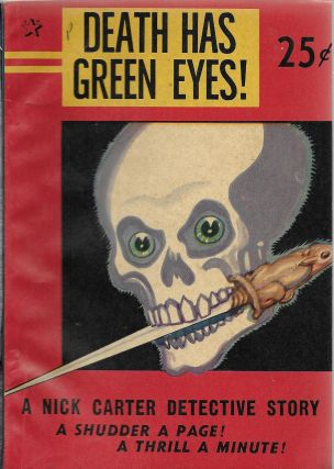 Death Has Green Eyes! Nicholas Carter