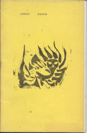 Ghostdamce 12 [Ghost Dance on cover]. Hugh Fox, Charles Bukowski