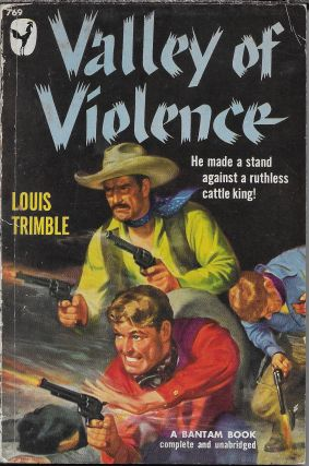 Valley of Violence. Louis Trimble