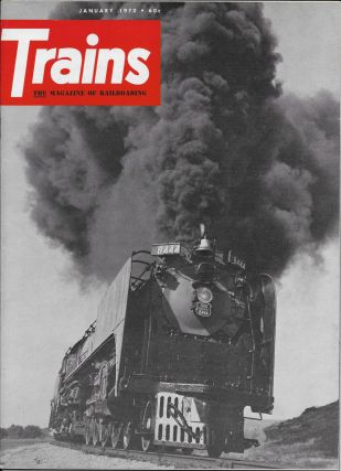 Trains, The Magazine of Railroading, 12 Issues - The Complete Year, 1970: January, February,...