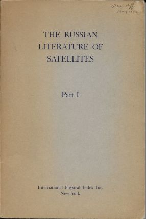 The Russian Literature of Satellites, Part I