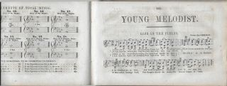 The Young Melodist: A Collection of Social, Moral and Patriotic Songs Designed for Schools and Academies. Composed and Arranged for One, Two, and Three Voices