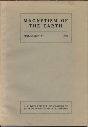 Magnetism of the Earth. James H Nelson, Louis Hurwitz, David G. Knapp