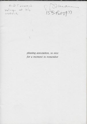 Flute: A Journal of Poetry. SummerFall 1976
