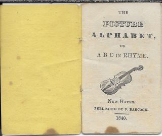 The Pictore Alphabet, Or, ABC in Rhyme