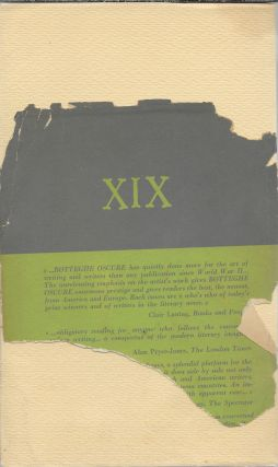 Botteghe Oscure: Quaderno XIX [Spring 1957]