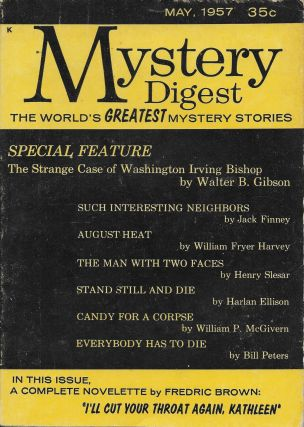 Mystery Digest May 1957, Vol. I No.1