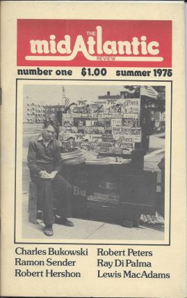 The MidAtlantic Review, Numbe One, Summer 1976. Charles Bukowskik