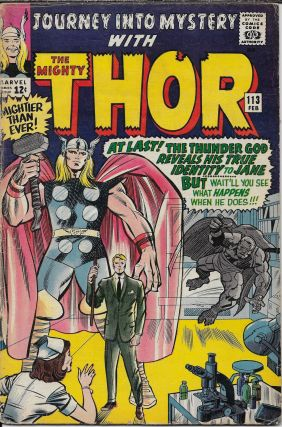 Journey into Mystery wih the Mighty Thor 113 Feb 1965