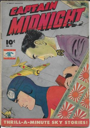 Captain Midnight 35 1945 Thrill-a-Minute Sky Stories!
