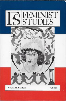 FS: Feminist Studies. Fall 1989. Volume 13, Number 3. Claire G. Moses