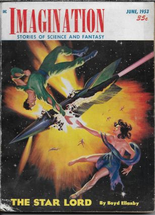 """Paycheck"" in Imagination: Stories of Science and Fantasy, June 1953. Volume 4, Number 5. William..."