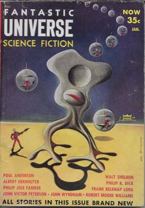 """Beyond the Door"" in Fantastic Universe [cover title is Fantastic Universe Science Fiction],..."