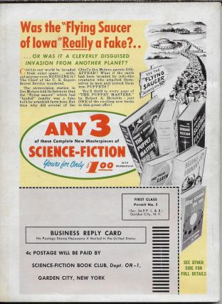 """Tony and the Beetles"" in Orbit: The Best in Science Fiction. 1953. Volume 1, Number 2"