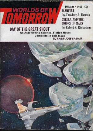 """Retreat Syndrome"" in Worlds of Tomorrow. January 1965. Frederik Pohl, Philip K. Dick"