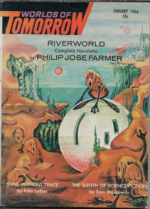 """Project Plowshare [Part Two]"" in Worlds of Tomorrow. January 1966. Frederik Pohl, Philip K. Dick"