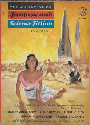 """The Short Happy Life of the Brown Oxford"" in The Magazine of Fantasy and Science Fiction. ..."