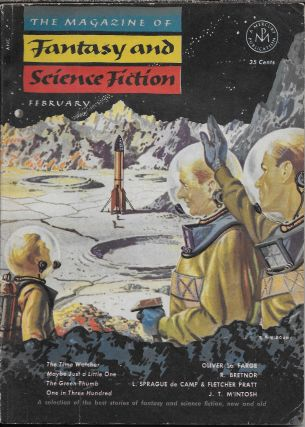 """Roog"" in The Magazine of Fantasy and Science Fiction. February 1953. Anthony Boucher, J...."