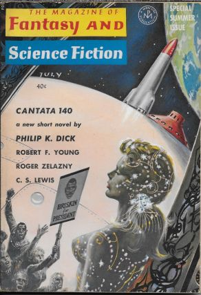 """Cantata 140"" in The Magazine of Fantasy and Science Fiction. July 1964. Edward L. Ferman,..."