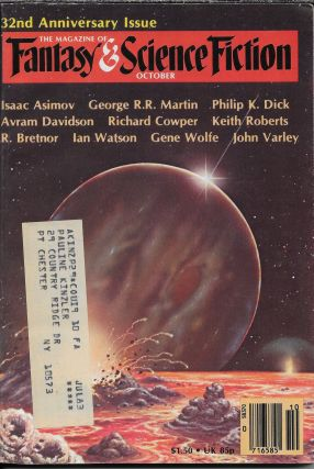 """The Alien Mind"" in The Magazine of Fantasy and Science Fiction. October 1981. Edward L...."