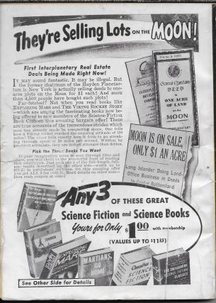 """""""The Unreconstructed M"""" in Science Fiction Stories. January 1957."""