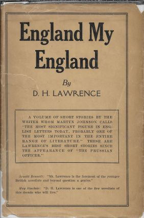 England My England and Other Stories. D. H. Lawrence