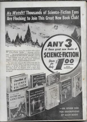 """""""The Pattern"""" in Science Fiction Stories Volume 5, Number 5. March, 1955"""